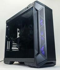 Custom Gaming PC Computer i7-8700 3.2GHz 16GB 240GB M.2 SSD 1 TB HDD RX 580 4GB