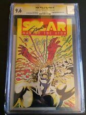 Solar Man of the Atom #2 Valiant Comics CGC 9.6 SS 0764614002 Shooter & Layton