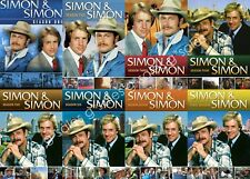 Simon & Simon TV Series Complete Season 1-8 Final (1 2 3 4 5 6 7 8) NEW DVD SET