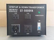 5000W VOLTAGE CONVERTER TRANSFORMER STEP UP &  DOWN CE 230 TO 110V &110V TO 230V