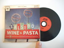 SALSEDO : WINE & PASTA [ CD ALBUM PROMO PORT GRATUIT ]