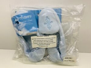 DEARFOAM SLIPPERS IN ICE BLUE SIZE 6 - NEW IN PACK