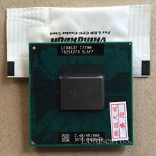 Intel Core 2 Duo T7700 2,4 GHz 2-Core 4M 800MHz Prozessor Sockel P Laptop CPU