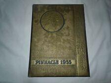 """Pinnacle""-- Hamburg PA High School 1955 Yearbook"