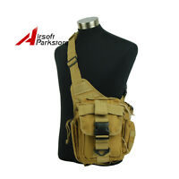 Tactical Camera Messenger Shoulder Bag Molle Outdoor Military Sling Pack Pouch