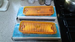 1973 to 1980 NOS Chevy Truck Parts Parking Turning Lights & Housings Vintage
