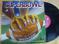 DISCO LP 33 GIRI - SUPERBOWL - MIXED COMPILATION HITS MONDIALI - DELTA 1984 VG--