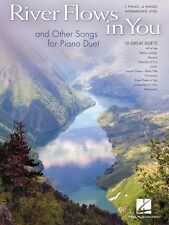 River Flows in You and Other Songs Arranged for Piano Duet Intermediat 000141055