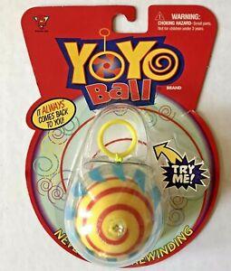 NIP NEW Big Time Toys YOYO BALL Never Needs Rewinding VINTAGE 2003 Orig package