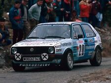 VW Golf II 2 16V Gruppe A & N Homologation - Rallye / Racing Motorsport Group A