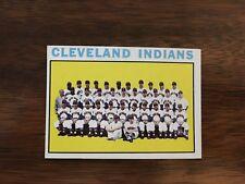1964 Topps Baseball Card CLEVELAND INDIANS Team Card #172 EXMT