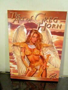 SIGNED THE ART OF GREG HORN~