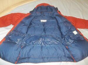 PERFECT Marmot Goose Down Vintage Mountain Parka Jacket Coat Puffer USA Orange
