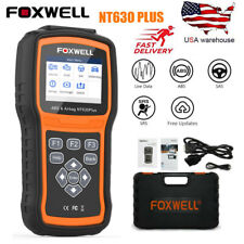 Foxwell NT630 Plus ABS SRS SAS Reset OBD2 Code Reader Scanner Diagnostic Tool