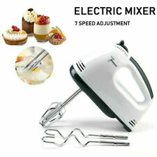 Electric Handheld Whisk 7 Speed Hand Mixer Kitchen Egg Beater Cream Cake Blender