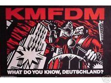 Wholesale Lot Of 10 KMFDM Deutschland POSTERS