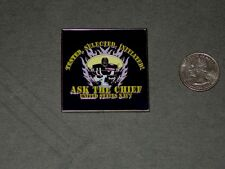 USN Navy Chief Challenge Coin Ask The Chief