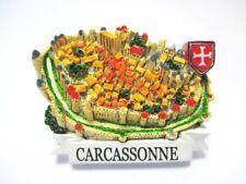 Carcassonne Festung Poly Magnet Frankreich France Reise Souvenir new