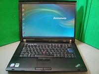 "IBM/LENOVO R61 Laptop Cheap Core 2 Duo 2GB 160GB WIFI 15.4"" Screen Windows 7 Pro"