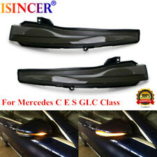 Side Mirror Sequential Blink Turn Signal Light SET For Mercedes C E S GLC Class