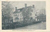 HAMBURG NJ - Ex-Governor Haines Home - udb (pre 1908)