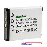 Kastar Replacement Battery Pack for Megapix Vx8 Minox DC 1011 DC 1022 DC 8111