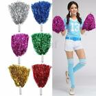 1 Pair Cheerleading Pompoms Waver Fancy Dress Costume Pom Pom Dance Party Decor