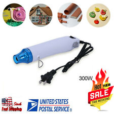 Mini Heat Gun DIY Electric Nozzles Tool Hot Air Gun Embossing Drying Paint US