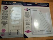 Threaders Crafters Companion Dresden Plate Shape Cutter and 45 diamond New