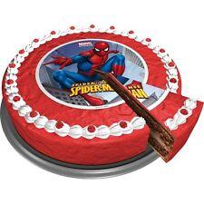 Tortenaufleger Marvel Avengers Spiderman DVD NEU Oblate Tortenbild Muffin DVD