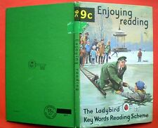 Enjoying Reading vintage Ladybird book 9c Key Words Scheme English language.