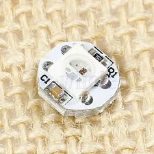 10PCS WS2812B 5050 RGB DEL & PCB Board Module DEL Pixel Light 5 V noir PCB K6
