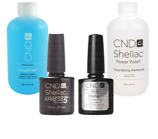 CND Shellac Xpress Top/Base Coat Scrubfresh + Offly Fast Nourising Remover