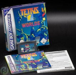 Tetris Worlds - Game Boy Advance - OVP - CIB