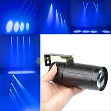 3W Mini LED Blue Laser Projector Stage Lighting Spot Light DJ Disco Party Club