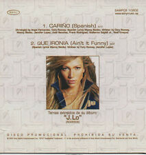 "JENNIFER LOPEZ ""CARIÑO (SPANISH)"" ULTRA RARE SPANISH PROMO CD / J.LO"