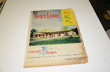 1961 St Louis Concord Homes Newspaper Insert House Design Housing New Ad Ads