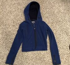 abercrombie and fitch Fleece Hoodie Mid Length Cut Women's XS