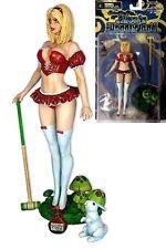 Cs Moore Studio Grimm Fairy Tales Alice Liddle Red Dress Variant Action Figure