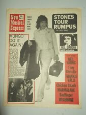 NME #1257 FEBRUARY 27 1971 MUNGO JERRY NEIL DIAMOND ROLLING STONES NEIL YOUNG