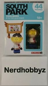South Park Toolshed & Top Bad Guys Board McFarlane - New In Hand FREE Shipping