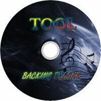 TOOL GUITAR BACKING TRACKS CD BEST GREATEST HITS MUSIC PLAY ALONG MP3 ROCK