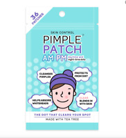 Skin Control Pimple Patch Mixed AM + PM 36 Pack    New & Sealed