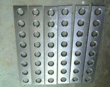 6 x Dimple die plates, lower control arms, roll cage, wheel tubs, 75x500x1.2mm