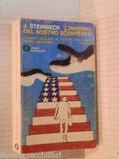 L INVERNO DEL NOSTRO SCONTENTO John Steinbeck Mondadori Gli Oscar 1966 romanzo