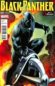 BLACK PANTHER #1 VARIANT EXCLUSIVE EDITION SIGNED BY ARTIST BRIAN STELFREEZE