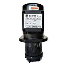 Machine Coolant pump,1/8 HP, immersion 100/130/150/180/220 mm, Lathe CNC Bandsaw