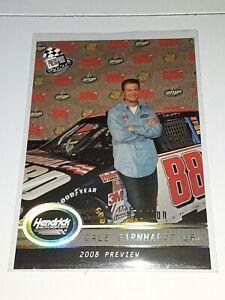 2008 Press Pass Racing Dale Earnhardt Jr. PLATINUM Insert Card P105 #/100!!