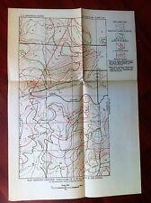 1922 Oklahoma USGS Oil & Gas Survey Map Missouri Kansas and Texas Railroad