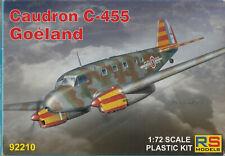 RS Models 1/72 Caudron C-455 Goeland NEW